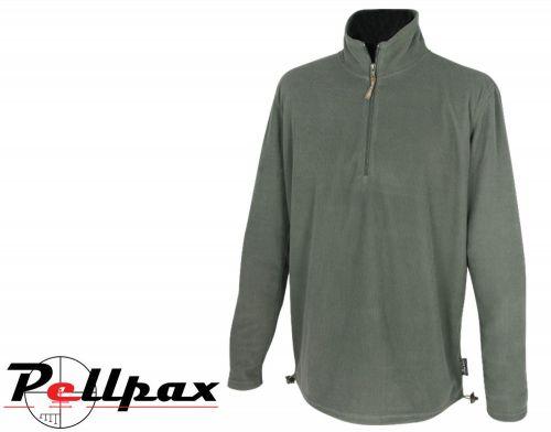 Lightweight Fleece Top By Jack Pyke in Green