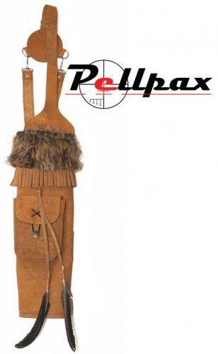 Timber Creek Leather Back Quiver LIL Bear Tan