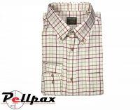 Countryman Shirt - Burgundy Check