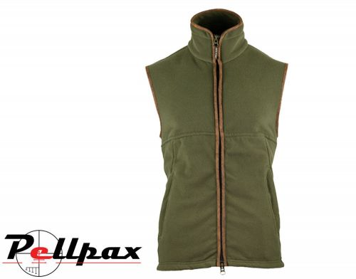 Countryman Fleece Gilet By Jack Pyke in Light Olive