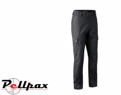 Lofoten Teflon Trousers in Black Ink by Deerhunter