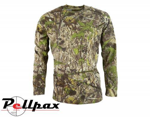 Hunting Long Sleeve T-Shirt By Huntsbury - English Hedgerow