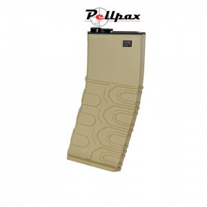 ICS M4/M16 T4 Plastic Magazine Tan - 300 Rounds