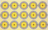 Marksman Challenger 50mm Self Adhesive Target x 120