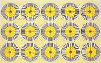 Marksman Challenger 50mm Self Adhesive Target x 240