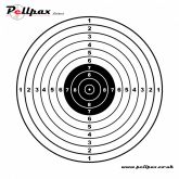 Pistol Targets 14x14 cm
