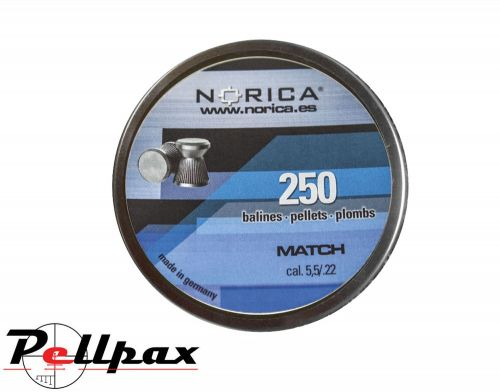 Norica Match .22 Pellets x 250