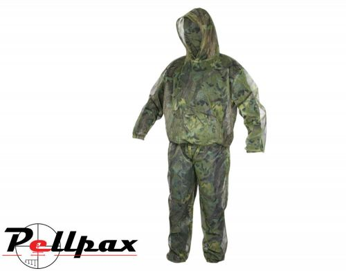Lightweight Mesh Suit By Jack Pyke in English Woodland Camo