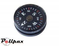 Mil-Com Survival Button Compass