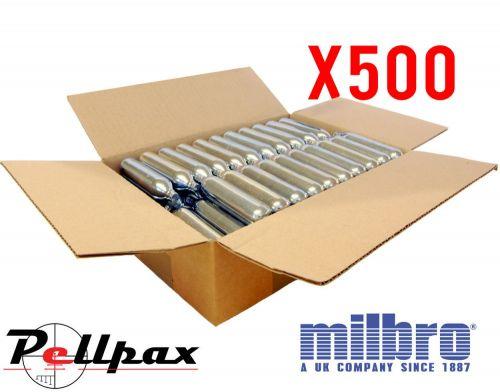 Milbro 12g CO2 Capsule Bulk Pack x 500