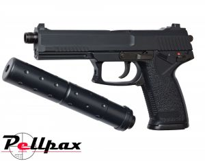 MK23 Spec Ops w/ Silencer - Gas 6mm Airsoft