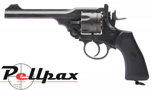 Webley MKVI Service Revolver Battlefield Finish - .177 Pellet