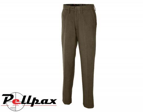 Moleskin Trousers By Jack Pyke in Mid Brown