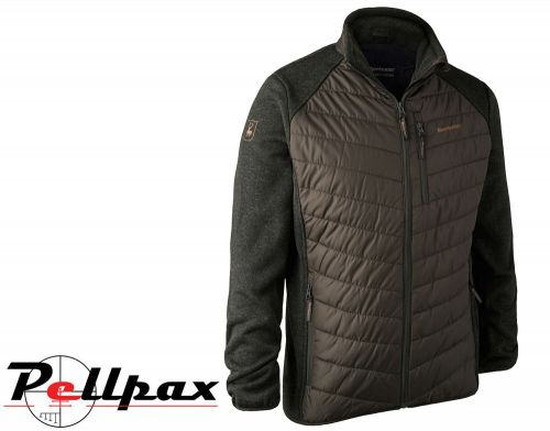 Moor Knitted Padded Jacket in Timber by Deerhunter