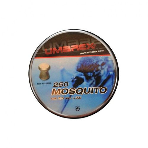 mosquito 22 pellets x 250 airgun pellets pellpax