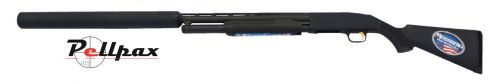 Mossberg Hushpower 500 Pump Action Synthetic - 12G