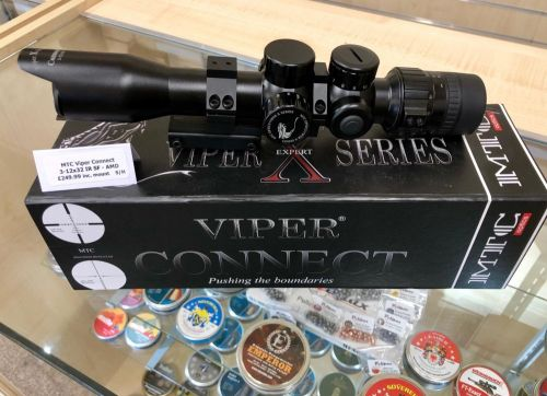MTC Viper Connect 3-12x32 IR SF - AMD - Second Hand