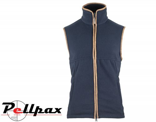 Countryman Fleece Gilet By Jack Pyke in Navy