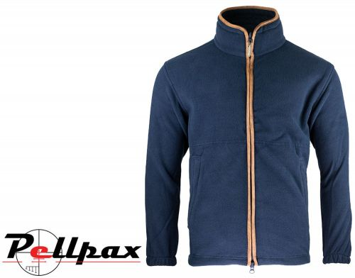 Countryman Fleece Jacket By Jack Pyke in Navy