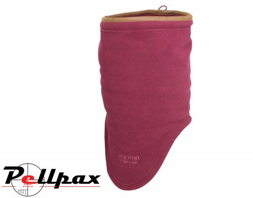 Countryman Fleece Neck Gaiter By Jack Pyke in Burgundy