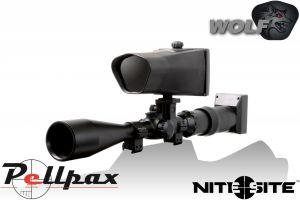 NiteSite Wolf Night Vision Scope Mounted Conversion Kit