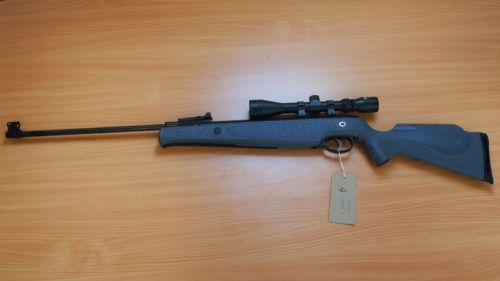 Norica Atlantic - .22 Air Rifle + Bag & Scope - Second Hand