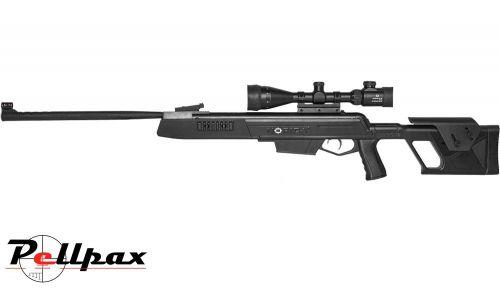 Norica Dead Eye .22 Pellet Gas Ram Rifle + Bag + Scope (4 x 40) - Second Hand