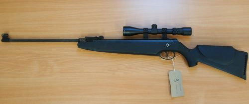 Norica Dragon - .22 Air Rifle + 3-9x40 Scope & Bag - Second Hand