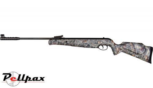 Norica Spider Camo .22 Pellet Gas Ram Rifle + Bag + scope - Second Hand