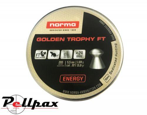 Norma Golden Trophy FT .22 Pellets x 200