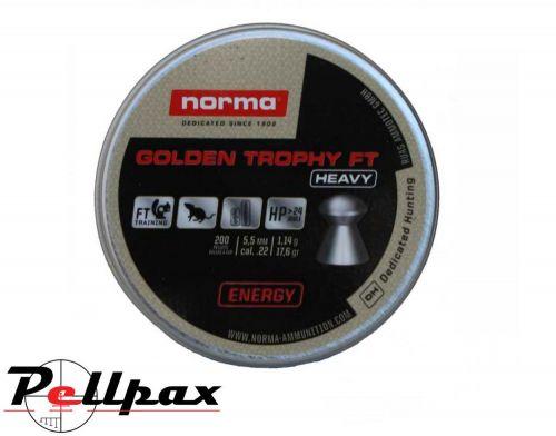 Norma Golden Trophy Heavy FT - .22 Pellet x 200