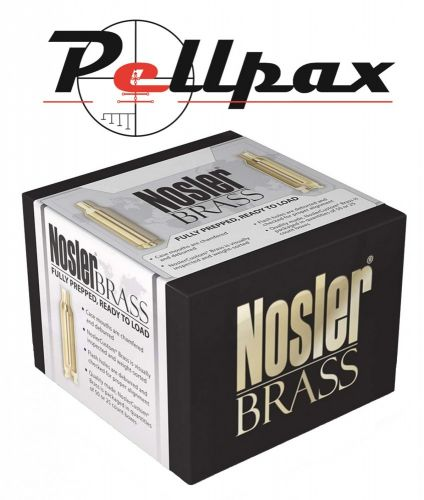Nosler Custom Unprimed Brass 223 Remington x 100