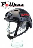 Nuprol NP Fast Railed Airsoft Helmet: Black / Green / Tan / Multi / Pink