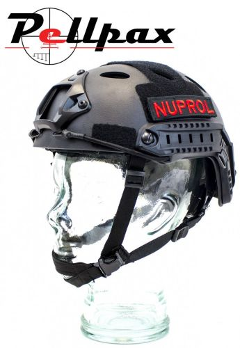 Nuprol NP Fast Railed Airsoft Helmet: Black / Green / Tan / Multi / Pink
