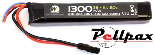 NP Power 1300MAH 11.1v 20c Stick
