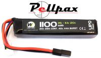 NP Power 1100MAH 11.1v 20c LiPo Stick Type