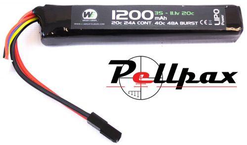 NP Power 1200MAH 11.1V 20C LiPo Stick