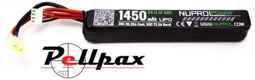 NP Power 1450MAH 11.1v 30c LiPo Stick