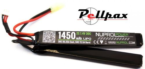 NP Power 1450MAH 7.4v 30c LiPo Nunchuck