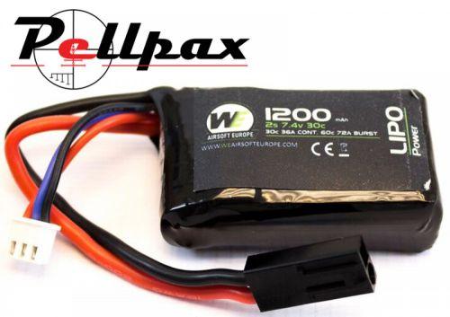 NP Power 1200MAH 7.4v 30c LiPo PEQ15 Micro