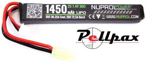 NP Power 1450MAH 7.4v 30c LiPo Stick
