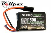 NP Power 1500MAH 7.4v 20c LiPo PEQ Micro