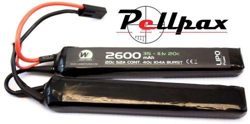 NP Power 2600MAH 7.4v 20c LiPo Nunchuck