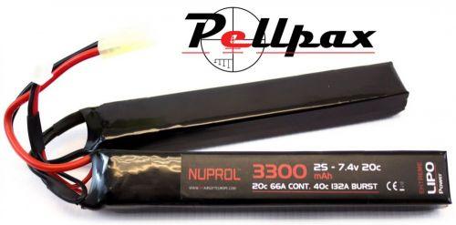 NP Power 3300mah 7.4v 20C LiPo Nunchuck