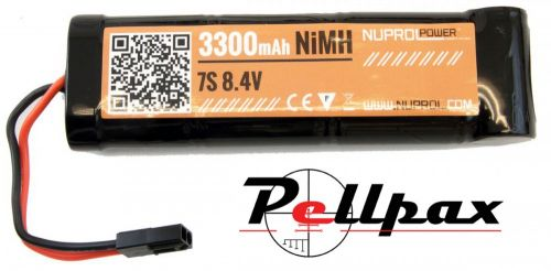 NP Power 3300MAH 8.4v NIMH Large Type