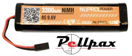 NP Power 3300MAH 9.6V NIMH Large Type