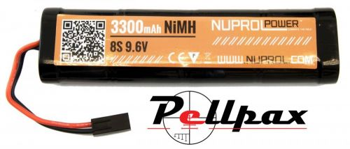 NP Power 3300MAH 9.6V NIMH Large Type
