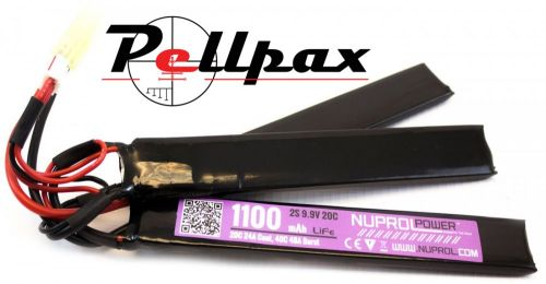 NP Power 1100MAH 9.9V 20c LI-FE Nunchuck