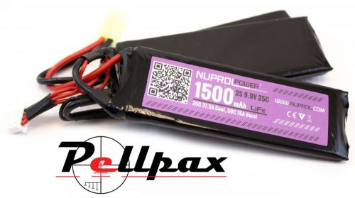 NP Power 1500MAH 9.9v 25c Li-Fe Nunchuck