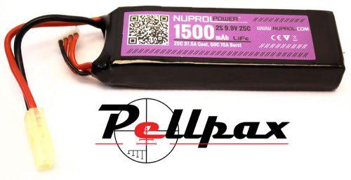 NP Power 1500MAH 9.9v 25c Li-Fe Stick